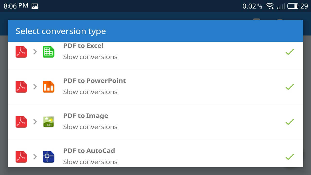 how to convert pdf to word with no app
