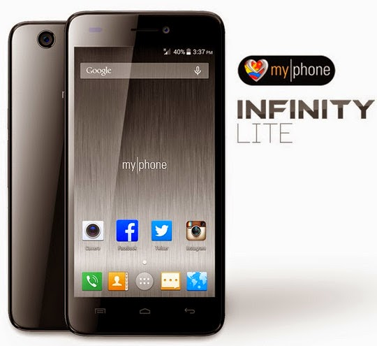 manual for myphone infinity lite