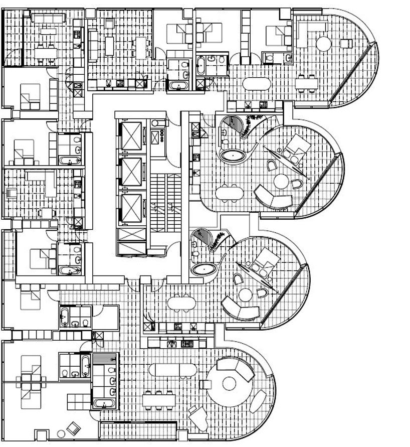 mixed use building floor plans pdf residential condo