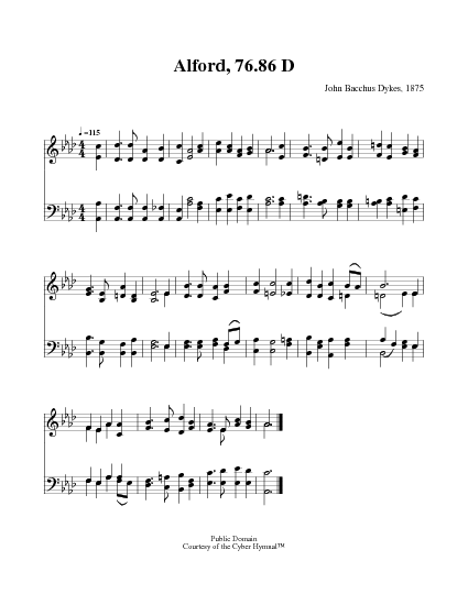 hymnals it is finished pdf