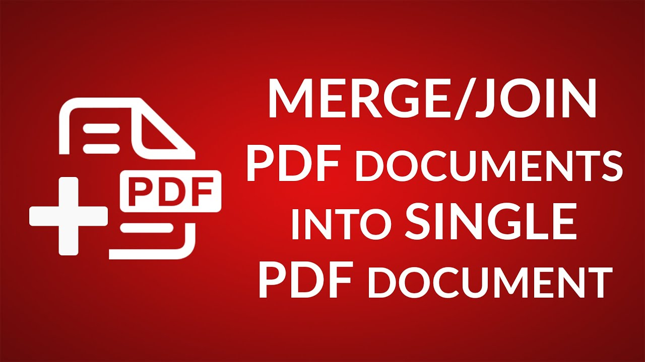 how to merge pdf files without singing in
