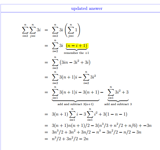 how to solve summation pdf