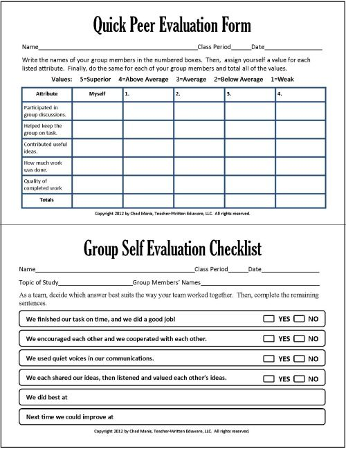 insight learned about assessment tool pdf