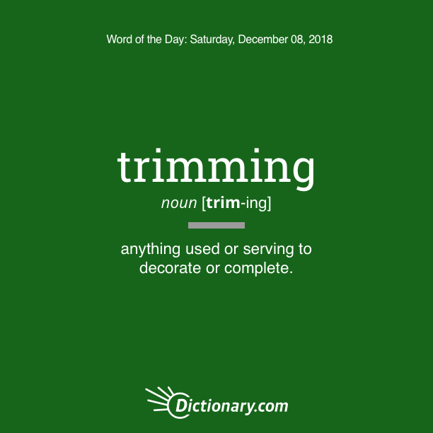 other terms of tree trimming
