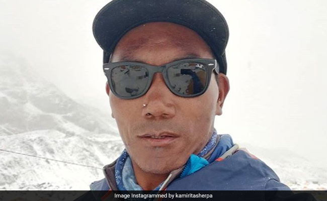 kami rita from nepal tour guide in mt everest