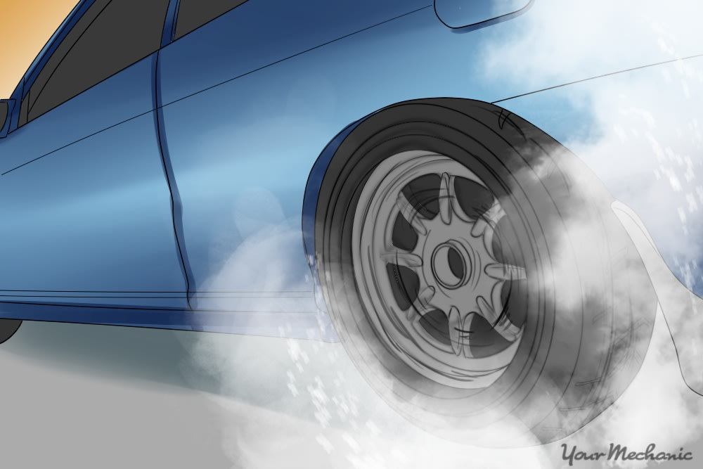 how to do burnout in manual