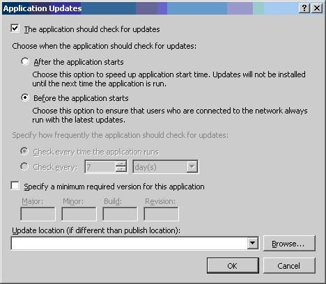 how to deploy windows based application