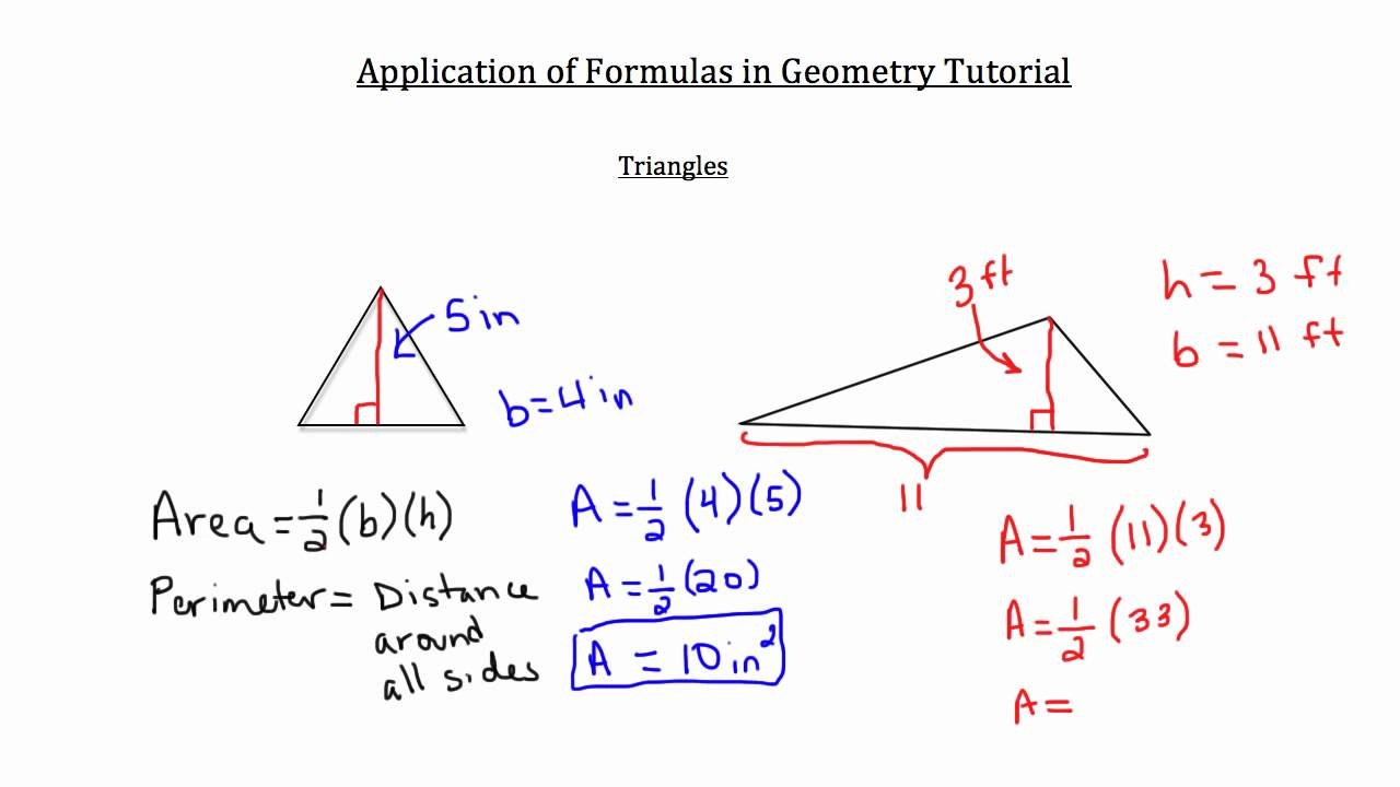 math definition of terms in geometry