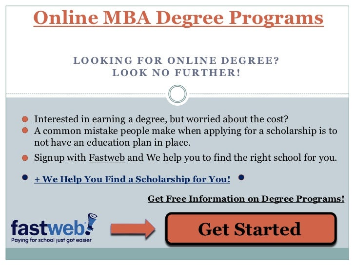 online mba degrees a guide